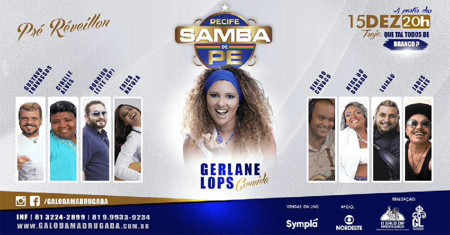 Recife Samba de PE – Gerlane Lops and Guests