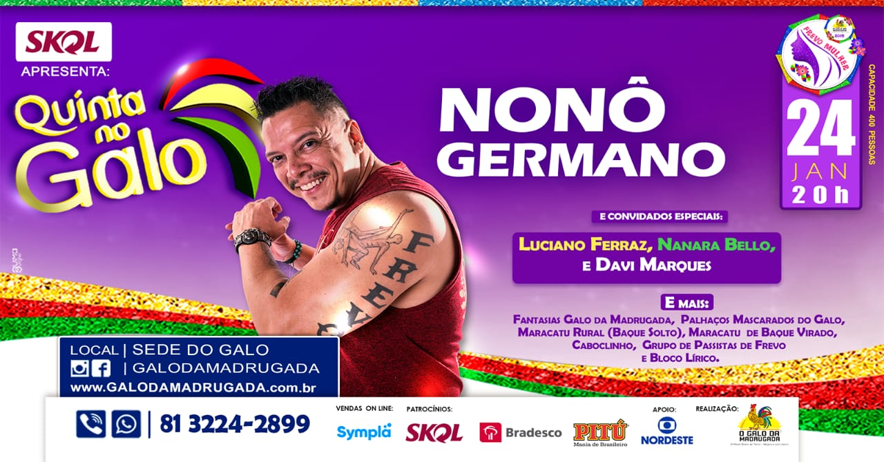 Nonô Germano na Quinta no Galo 2019