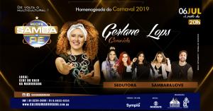 Recife Samba de PE com Gerlane Lops e convidados