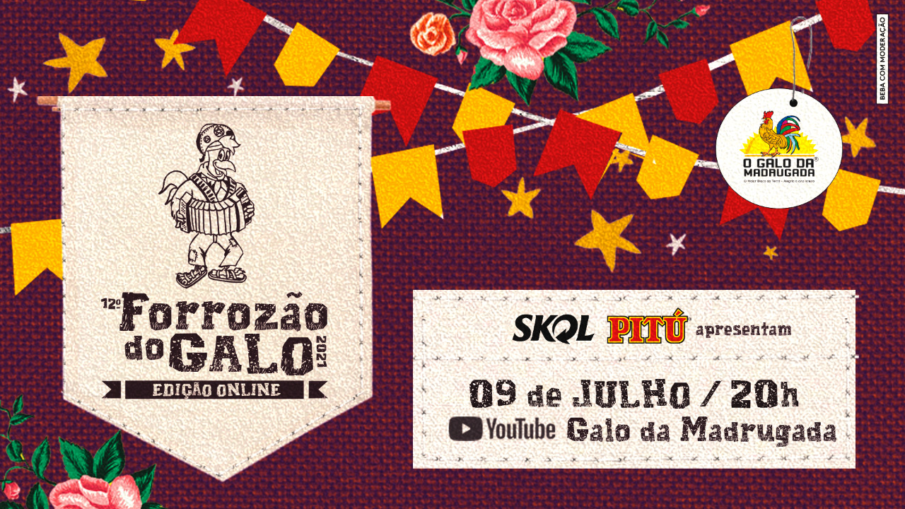 Galo leva Forrozão para as casas dos foliões e lança campanha para ajudar artistas e cooperativa de catadores de latinhas